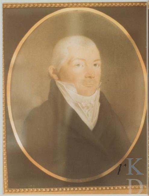 De gefortuneerde koopman Pieter Calkoen (1784-1863) overleed op zijn buitenplaats Duinlaan in Bennebroek