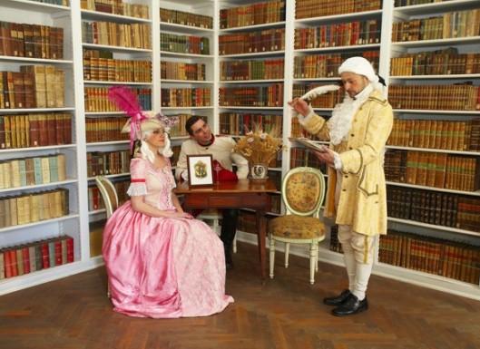 Casanova wordt nog incidenteel nagespeeld op het kasteel van Dux (Duchcov)
