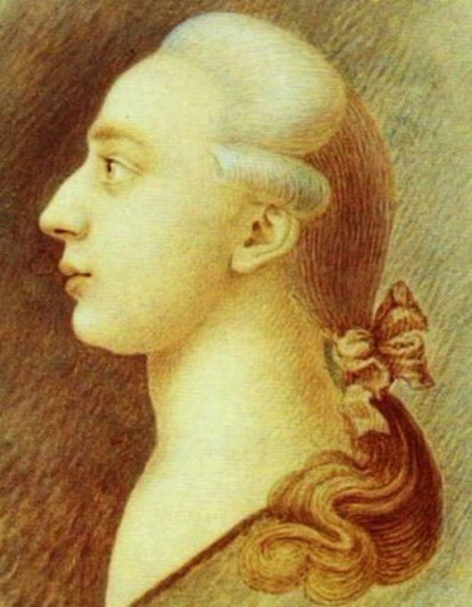 Giacomo Casanova. Portret door zijn broer de schilder Jacopo Casanova