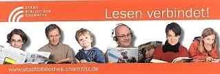 Lesezeichen van Stadtbibliothek Chemnitz