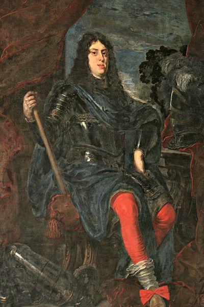 Portretschilderij van Cosimo de' Medici III door Justus Sustermans