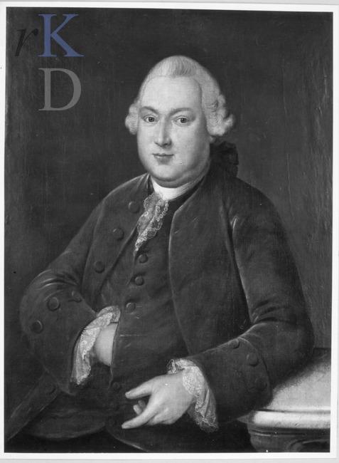 Portret van Abraham Dedel, eigenaar van Ipenrode, door J.Humbert (Iconografisch Bureau)