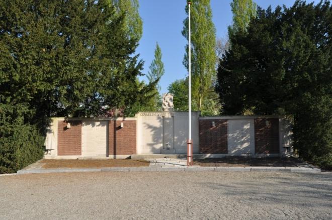Het oorlogsmonument op de begraafplaats Jaffa in Delft.