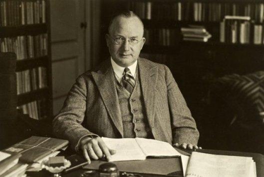 Dr.F.W.A.Korff, predikant in Heemstede en voorzitter van het Diaconessenhuis sinds 1929