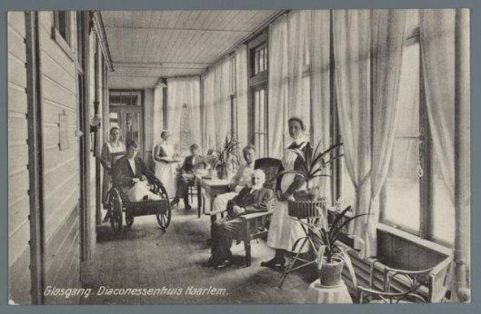 Glasgang Diaconessenhuis Haarlem