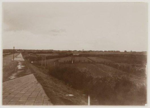 Aanleg Heemsteedse Dreef op een foto uit 1925
