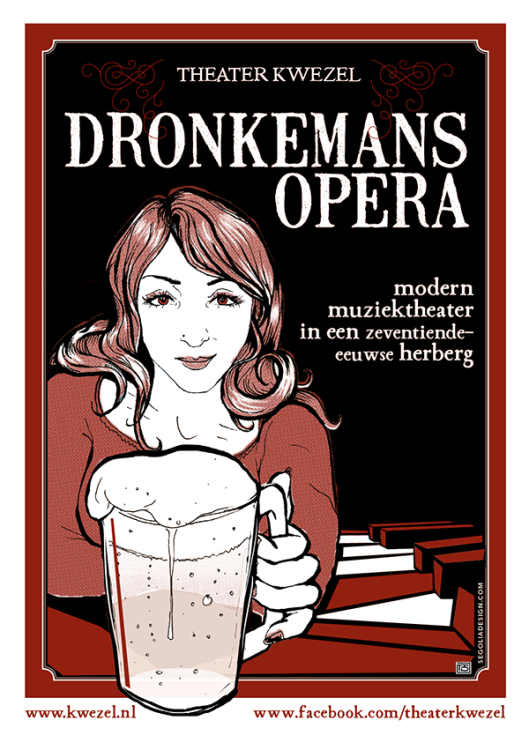 Gebaseerd op het Dronkemanshuisje is een Dronkemansopera 'van Haarlemse makers over de problemen en dromen van een kastelein en serveerster is een ruig café het Dronkemanshuisje'