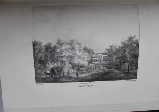 De hofstede Duinvliet van mw. de weduwe Borski (P.J.Lutgers)
