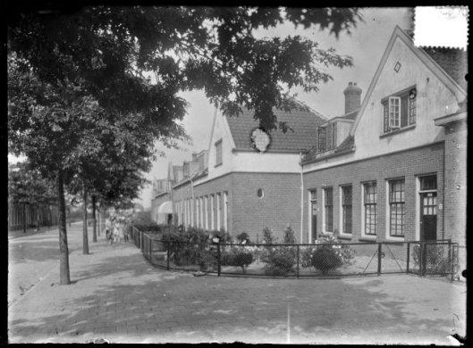 Eikenlaan, 1929, huizen gebouwd door woningbouwvereniging Berkenrode