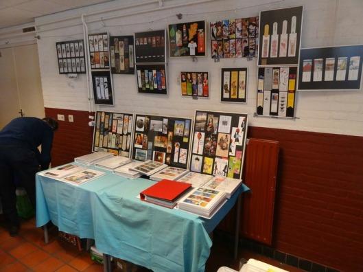 Tentoonstelling tijdens boekenruilbeurs Eindhoven in 2013