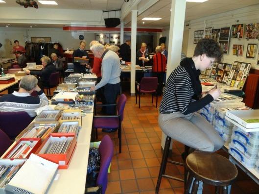 Boekenleggerruilbeurs Eindhoven 2013 met deelnemers ook uit België, Frankrijk en Nederland