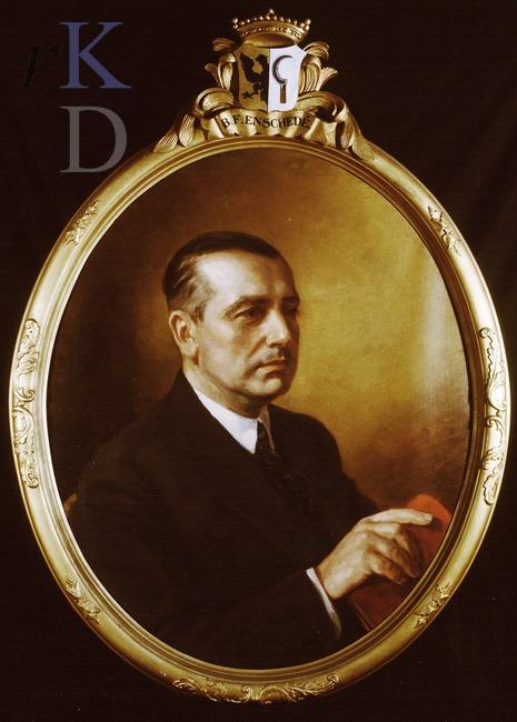 Boudewijn Franciscus Enschede (1893-1978), eigenaar van Ipenrode van 1938 tot 1969/1971 (Iconografisch Bureau)