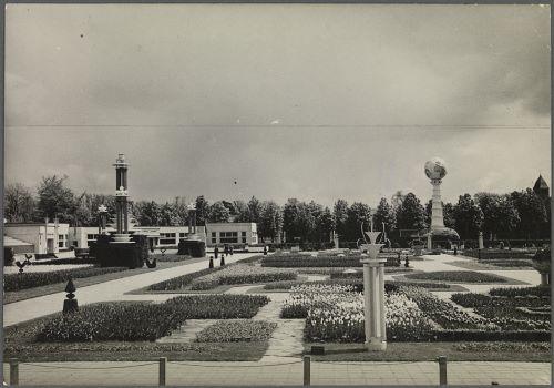 Overzicht van het Flora-terrein in 1935 (foto H.T.Seysener)
