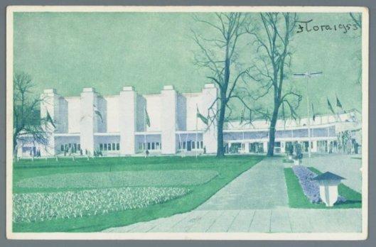 Tentoonstellingsgebouw FLORA Heemstede 1953