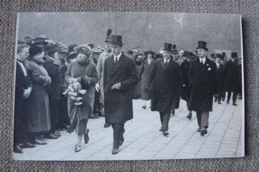 Bezoek van prinses Juliana aan de bloemententoonstelling Flora, 26 maart 1925