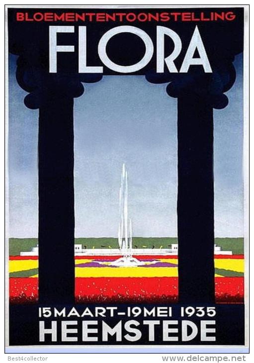 Plaat van Flora Heemstede 1935