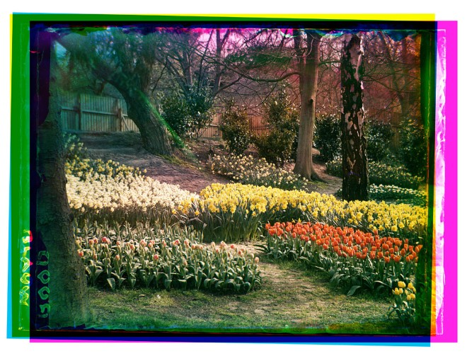 FLORA-bloemententoonstelling 1935 in Groenendaal, Heemstede (foto B.F.Eilers, stadsarchief Amsterdam)