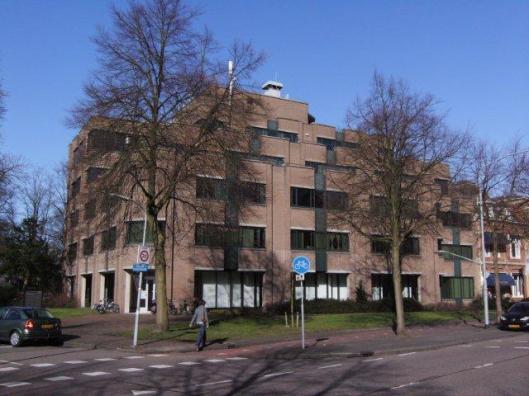 Het huidige kantoorgebouw, Fonteinlaan 5 Haarlem