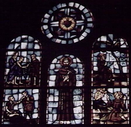 Sint Franciscusraam in de kapel van het moederhuis der Zusters Franciscanessen in Bennebroek