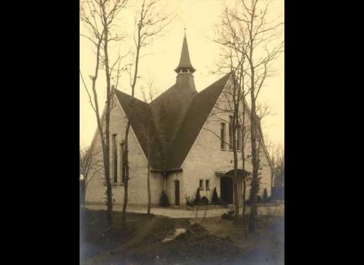 Gereformeerde kerk Bennebroek, Akonietenplein, 1939.