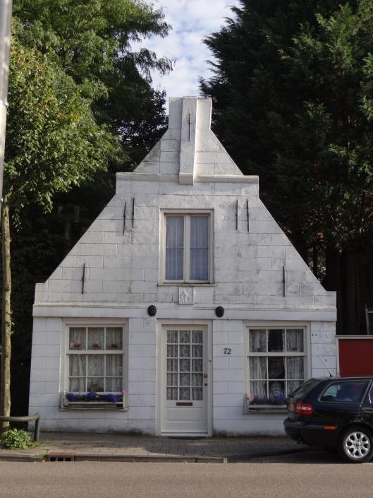 Het historische pand uit de 17e eeuw Glipperweg 72 in Heemstede
