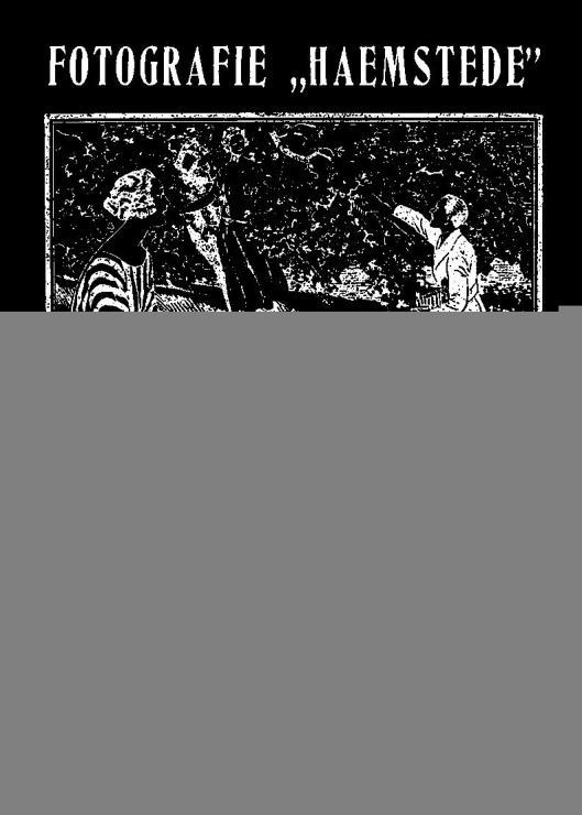 Tableau Woningbouw vereeniging De Haemstede, 1921 (tegen muur Haemstedepein 27). Architect H.van der Kloot Meyburg.  Zie: Tegels op locatie in Nederland; Heemstede