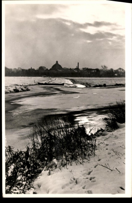 Wintergezicht op Hageveld Heemstede (1956)