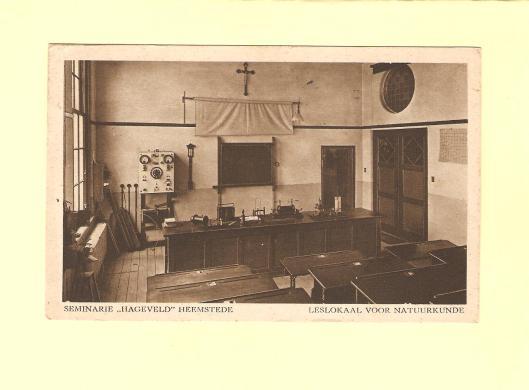 Hageveld: leeslokaal natuurkunde