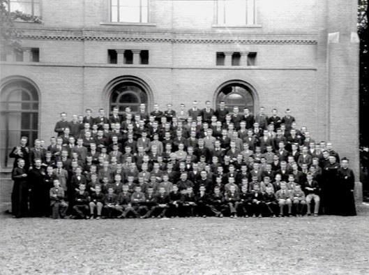Groepsfoto Hageveld, circa 1928
