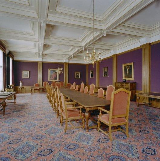Vm. Paarse Zaal in seminarie Hageveld (foto G.J.Dukker, Tijksdienst voor Cultureel Erfgoed, 2002)