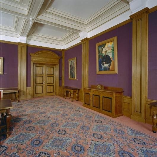 Voormalige Paarse Zaal in seminarie Hageveld (foto G.J.Dukker)