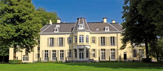 De Hartekamp in Heemstede (achterzijde van hoofdgebouw)