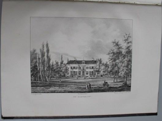 de Hartekamp in Heemstede nabij Bennebroek (P.J.Lutgers, circa 1840)