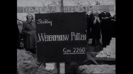 17 april 1947 had door vrouwen uit Heemstede de eerste steenlegging plaats van herbouw in Putten