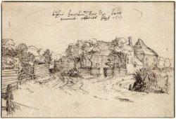 Herberg te Heemstede buiten de Haarlemmerhout, door Claes Janszoon Visscher, 1607 (N.H.A.)