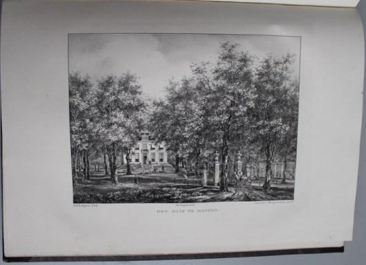 Huis te Manpad van de familie Van Lennep (P.J.Lutgers)