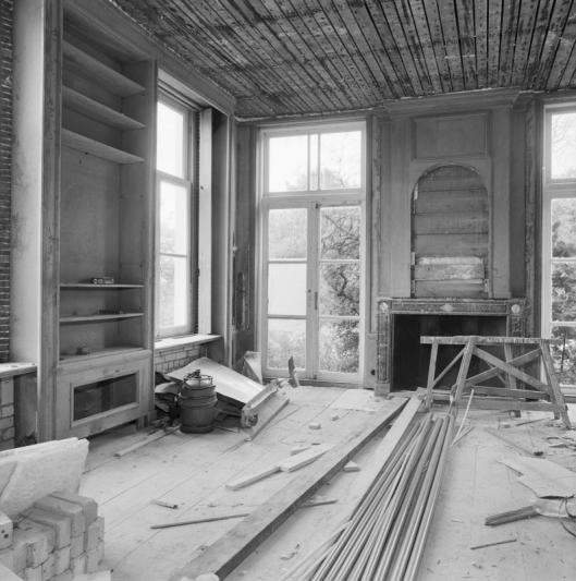 Ipenrode voor de grote restauratie dankzij J.A.E.Koning (foto G.J.Dukker, 1983)