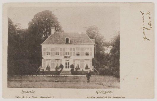 Prentbriefkaart van Ipenrode uit 1901