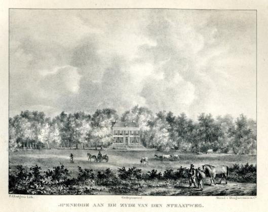 De hofstede Ipenrode aan de Herenweg in Heemstede