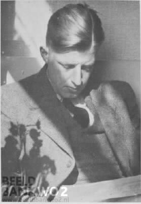 Pieter Hendrik de Jong (1912-1943) (foto NIOD)