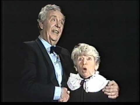 Wim Kan en Corry Vonk traden altijd graag op in het Minerva theater