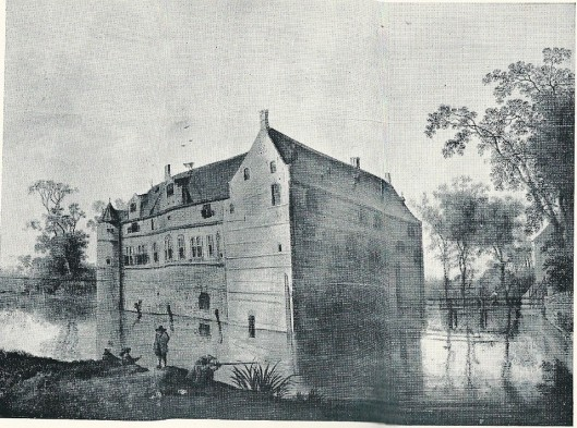 Het Huis te Heemstede omstreeks 1610