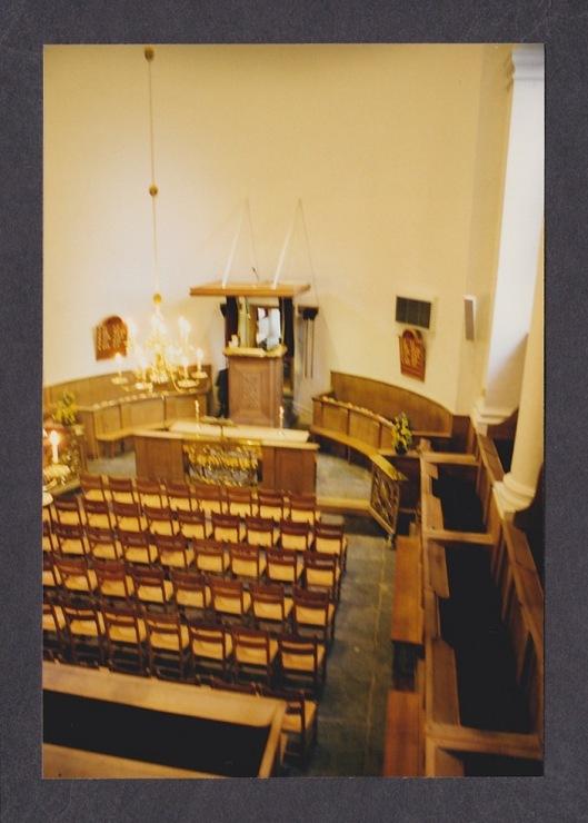 Interieurfoto Ned. Hervormde Kerk Bennebroek