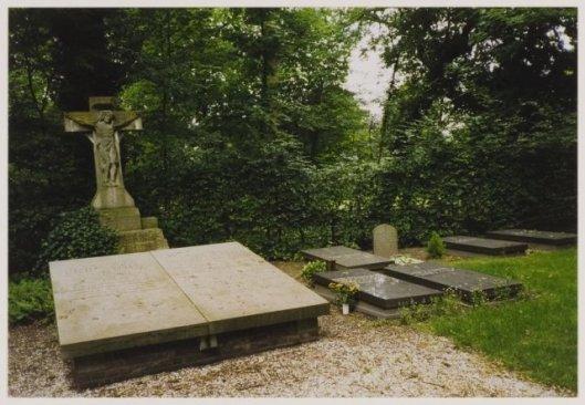 Overzicht van het kerkhof Hageveld Heemstede