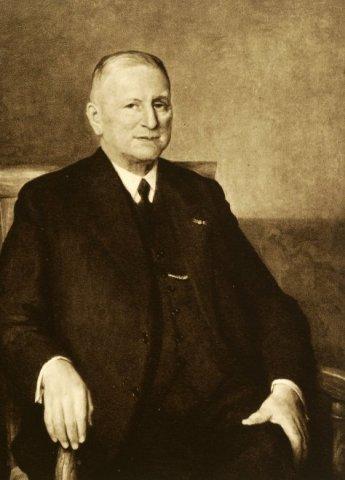 Portret van dr. L.C.Kersbergen
