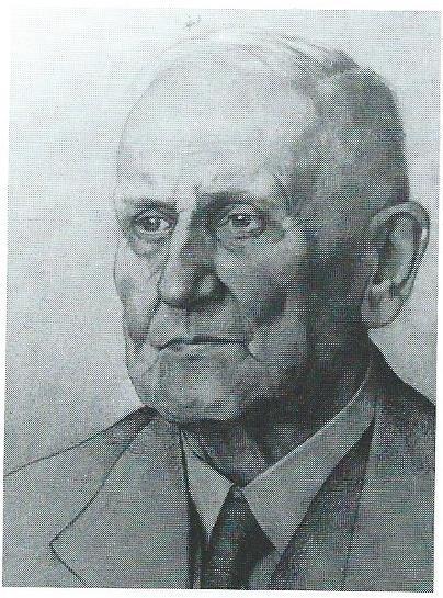Portretgravure L.C.Kersbergen door Dirk Harting