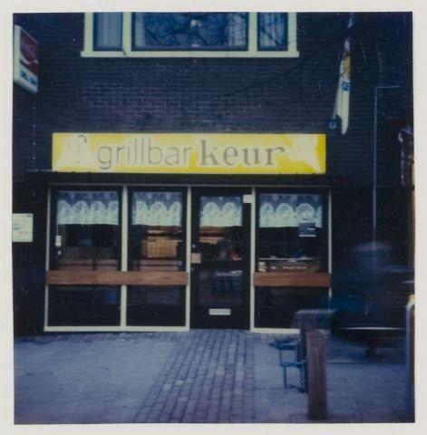 Vooraanzicht grillbar Keur, Binnenweg 131 Heemstede (NHA).