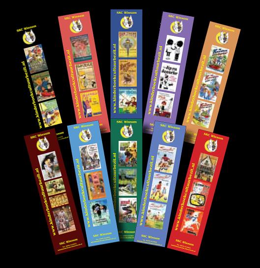 Boekenleggers van het Kinderboekenmuseum Den Haag