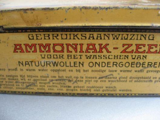 Ammoniak-zeep van 'Het Klaverblad' in Haarlem