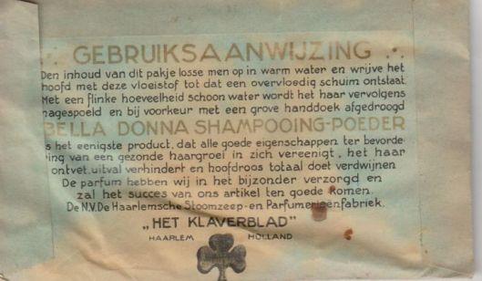 Gebruiksaanwijzing (Het Klaverblad, Haarlem)